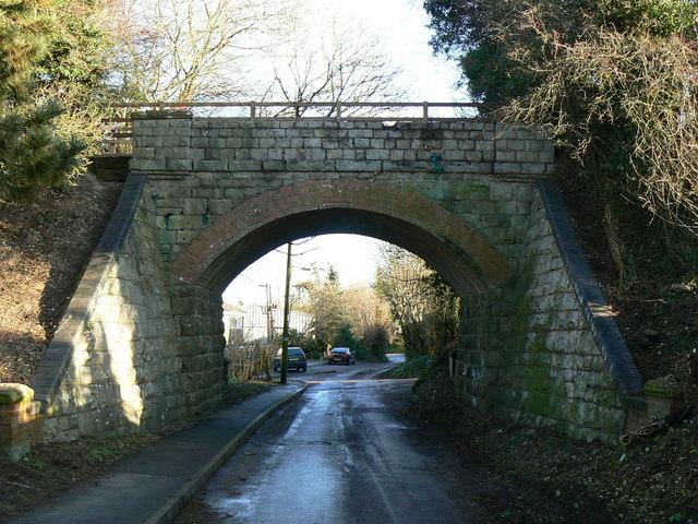 Bridge over Elcot Lane, Marlborough, Wiltshire - geograph.org.uk - 294151