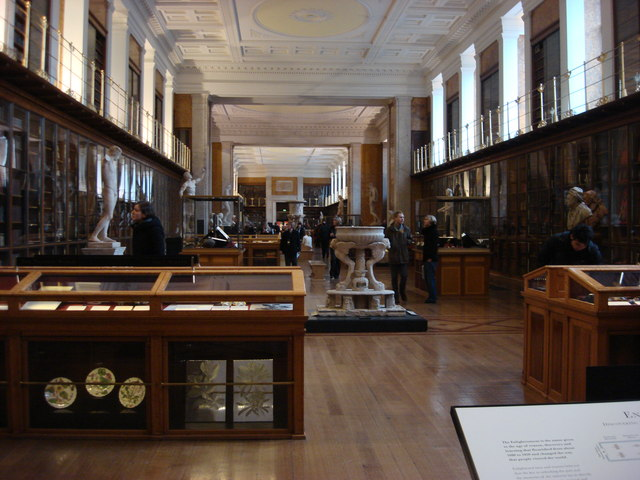 British Museum, King's Library - geograph.org.uk - 1156714