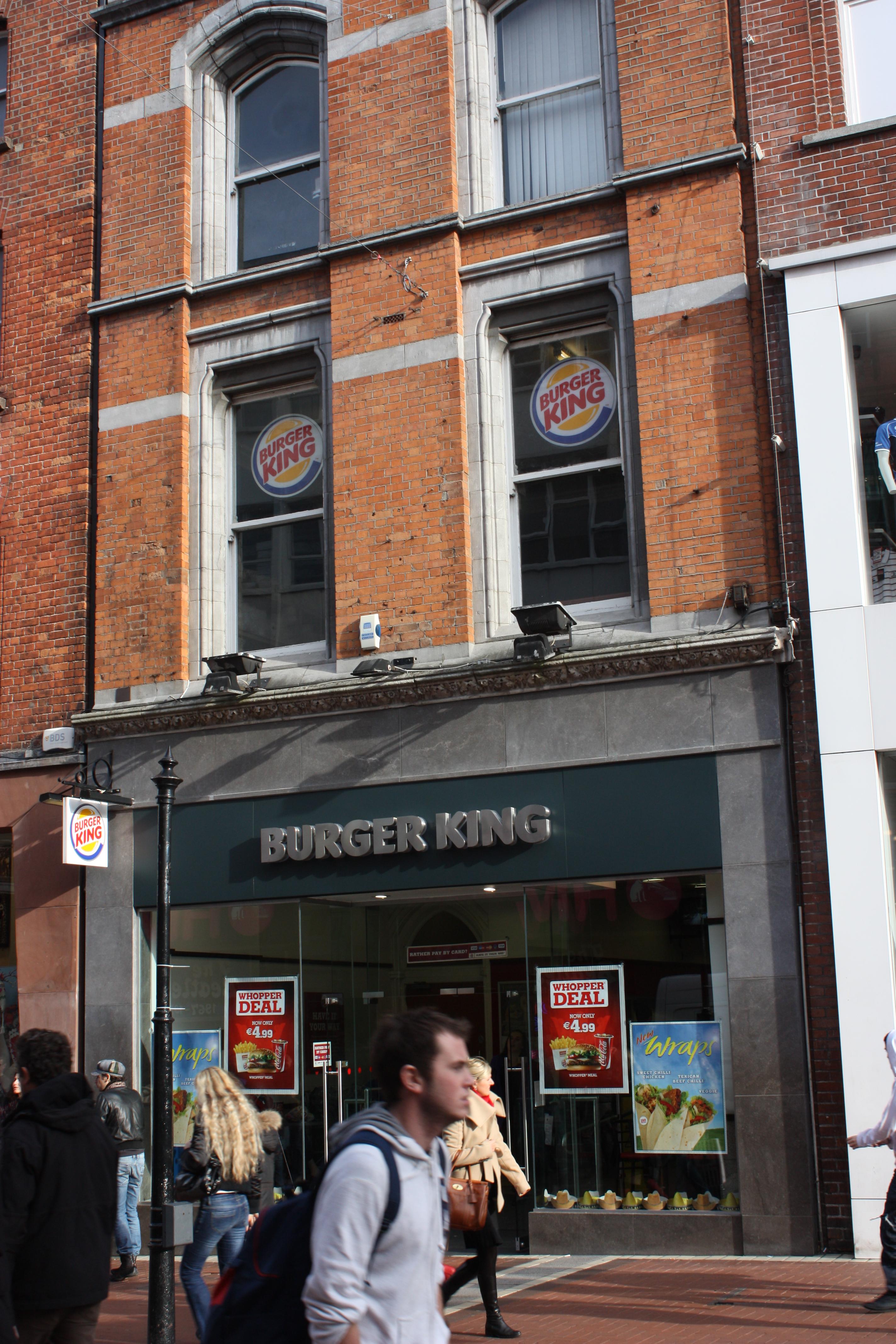 File:Burger King, Dublin, October 2010 JPG - Wikimedia Commons