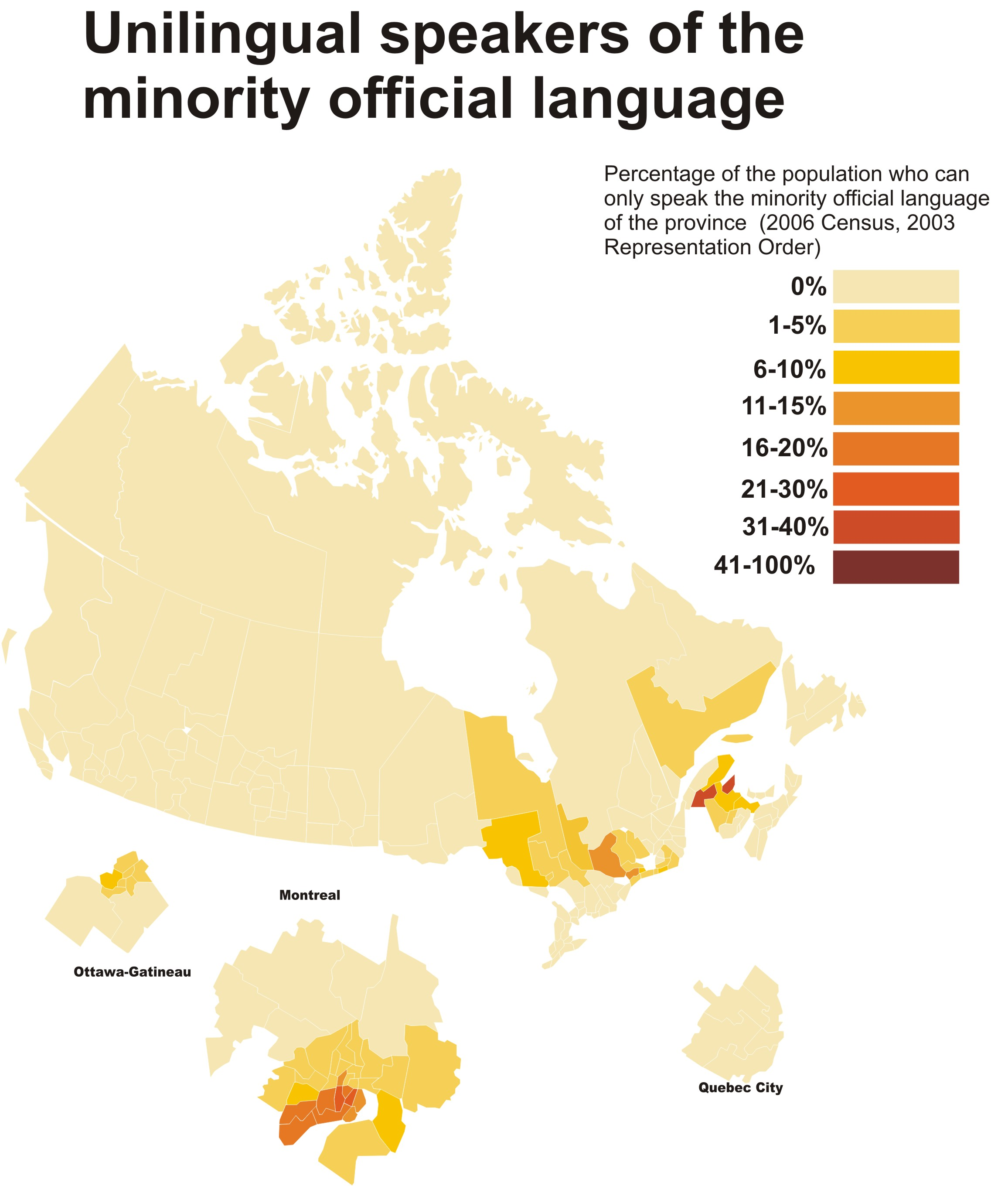 Map Of Canada Languages.File Canada Map Minority Language Use Jpg Wikimedia Commons