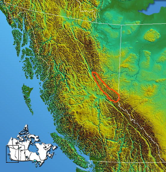 FileCanadian Rockies HartRangespng Wikimedia Commons - Map of canada mountains