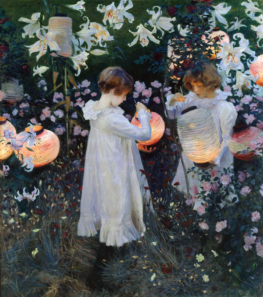 Carnation, Lily, Lily, Rose by John Singer Sargent, from WikiMedia Commons