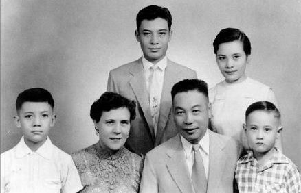 Chiang Chingkuo and family