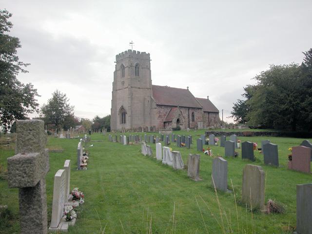 St Lucia's parish church, Upton Magna, Shropshire
