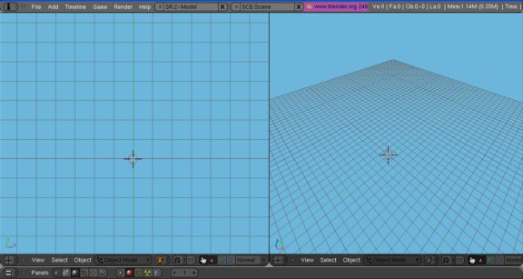 how to extrude in blender to delete material