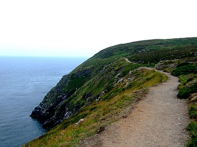 Cliff top walk in Howth - geograph.org.uk - 918474
