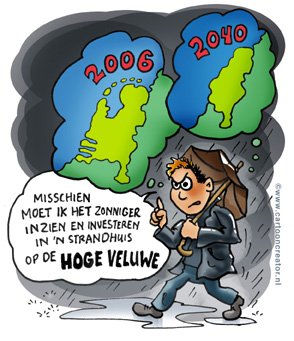 Nederlands: Cartoon about climate change
