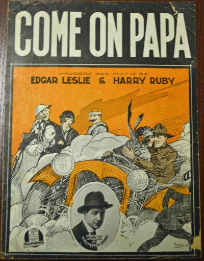''Come On Papa'' sheet music