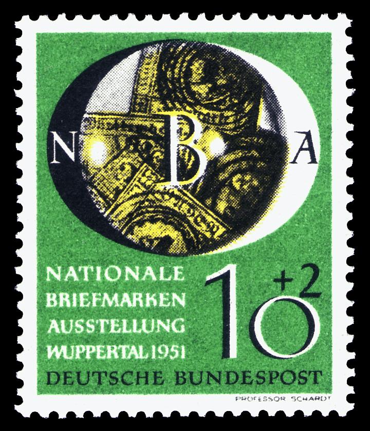 Briefmarken Jahrgang 1951 Der Deutschen Bundespost Wikiwand