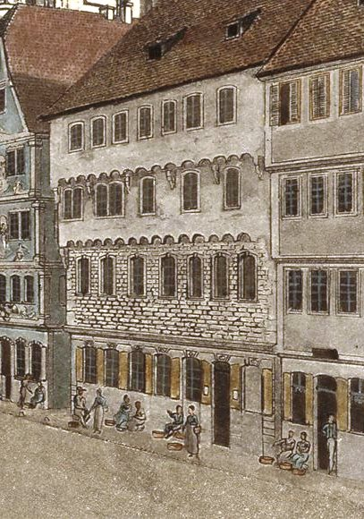 datei doerr carl markt zu heilbronn 1820 ausschnitt mit haus kaiserstra e wikipedia. Black Bedroom Furniture Sets. Home Design Ideas