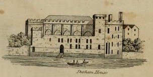 historic London town house of the Bishop of Durham in the Strand