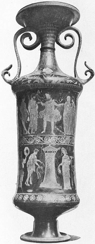 "EB1911 Ceramics Fig. 60.—AMPHORA OF APULIAN STYLE, WITH SCENE FROM EURIPIDES' ""HECUBA."".jpg"