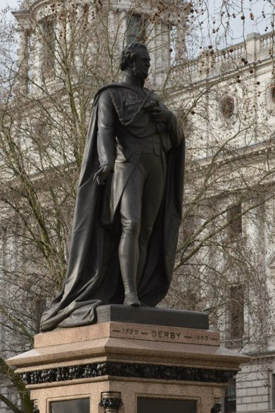 Statue of the Earl of Derby_1