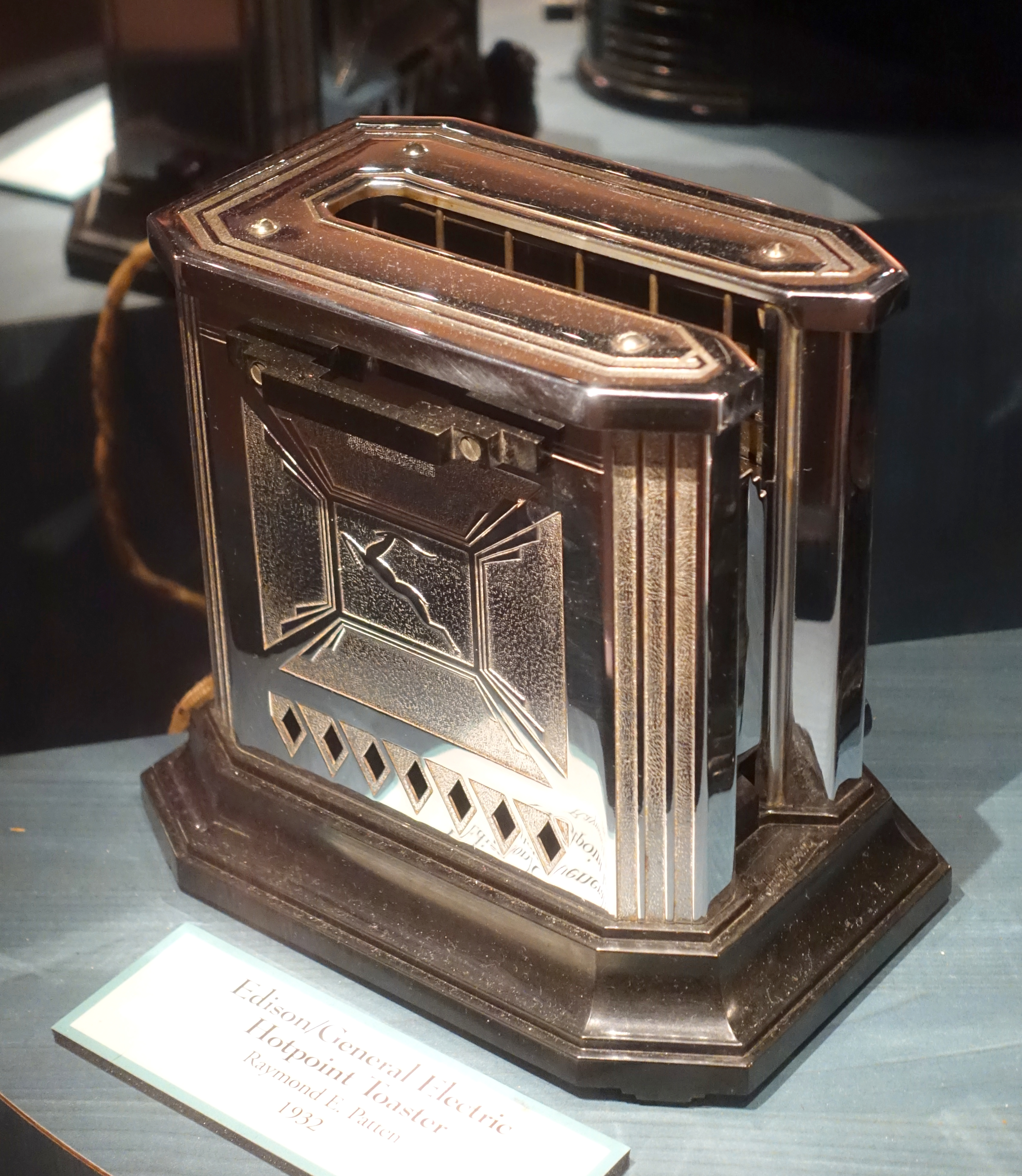 Electric Toaster History ~ File edison general electric hotpoint toaster