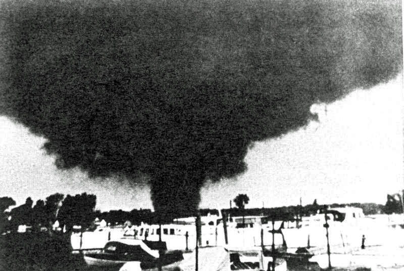 Image result for 1953 erie michigan tornado