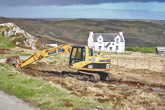 buy excavation equipment with a loan