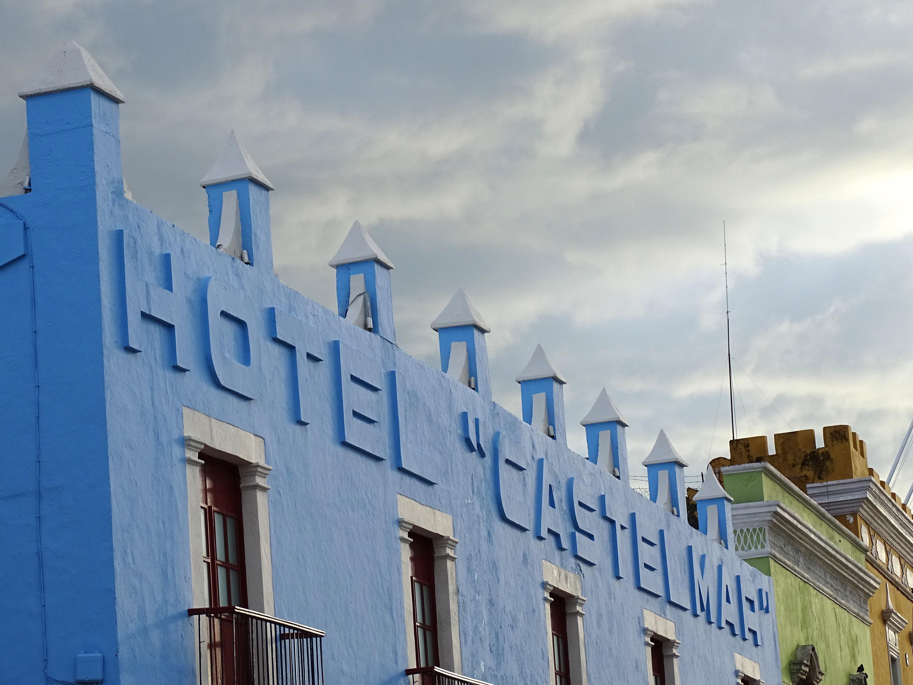 File Facade Of Hotel Castelmar Campeche Yucatan Peninsula