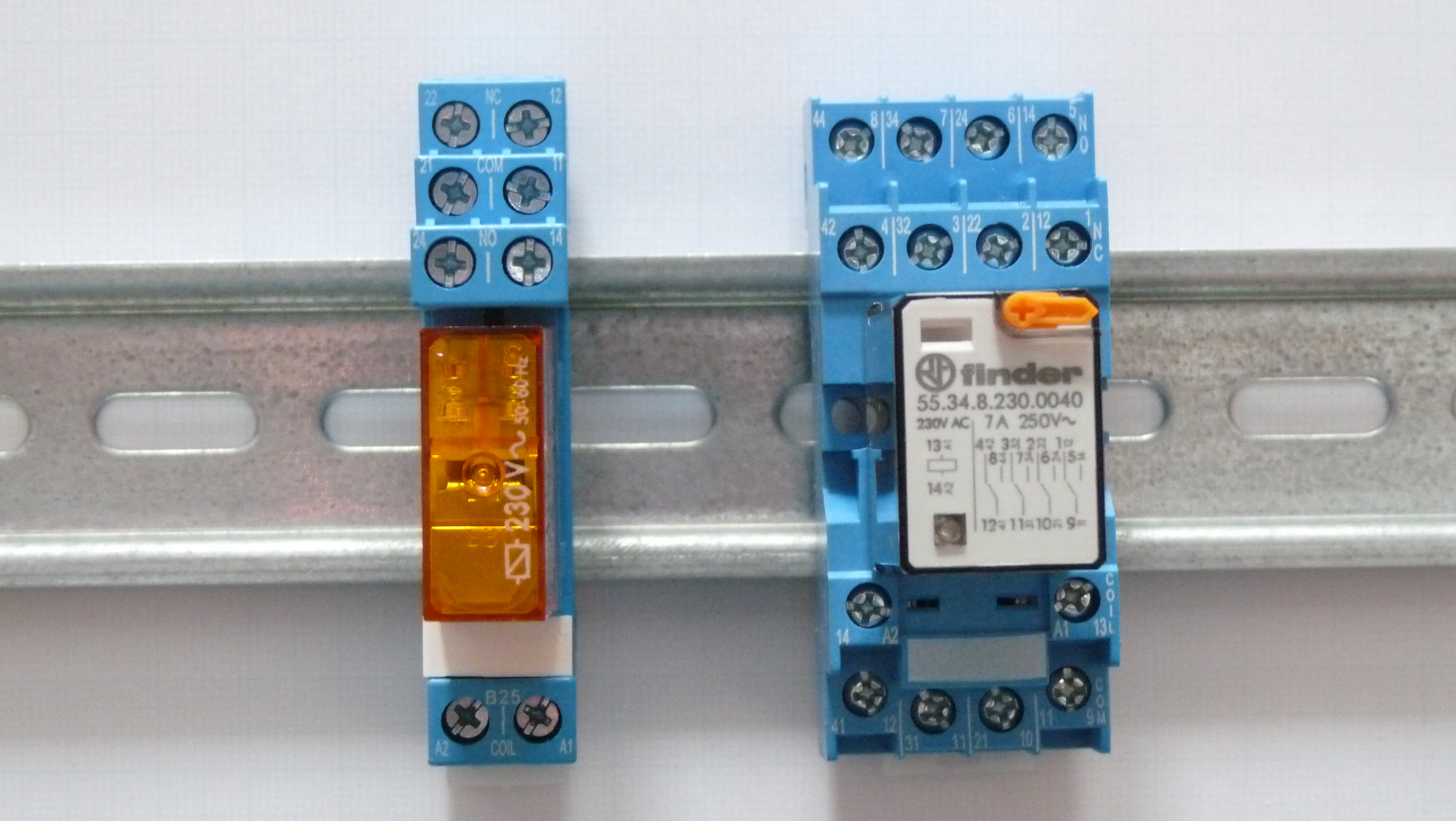 Electrical Relay Power Wiring Photos