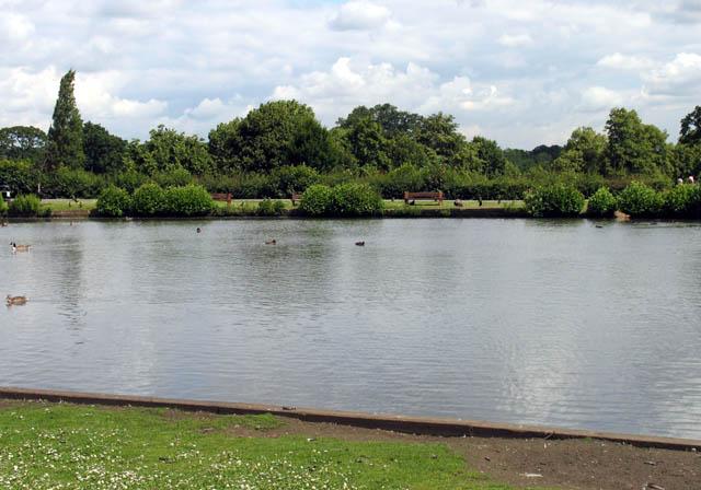 Forty Hall Lake - geograph.org.uk - 479914