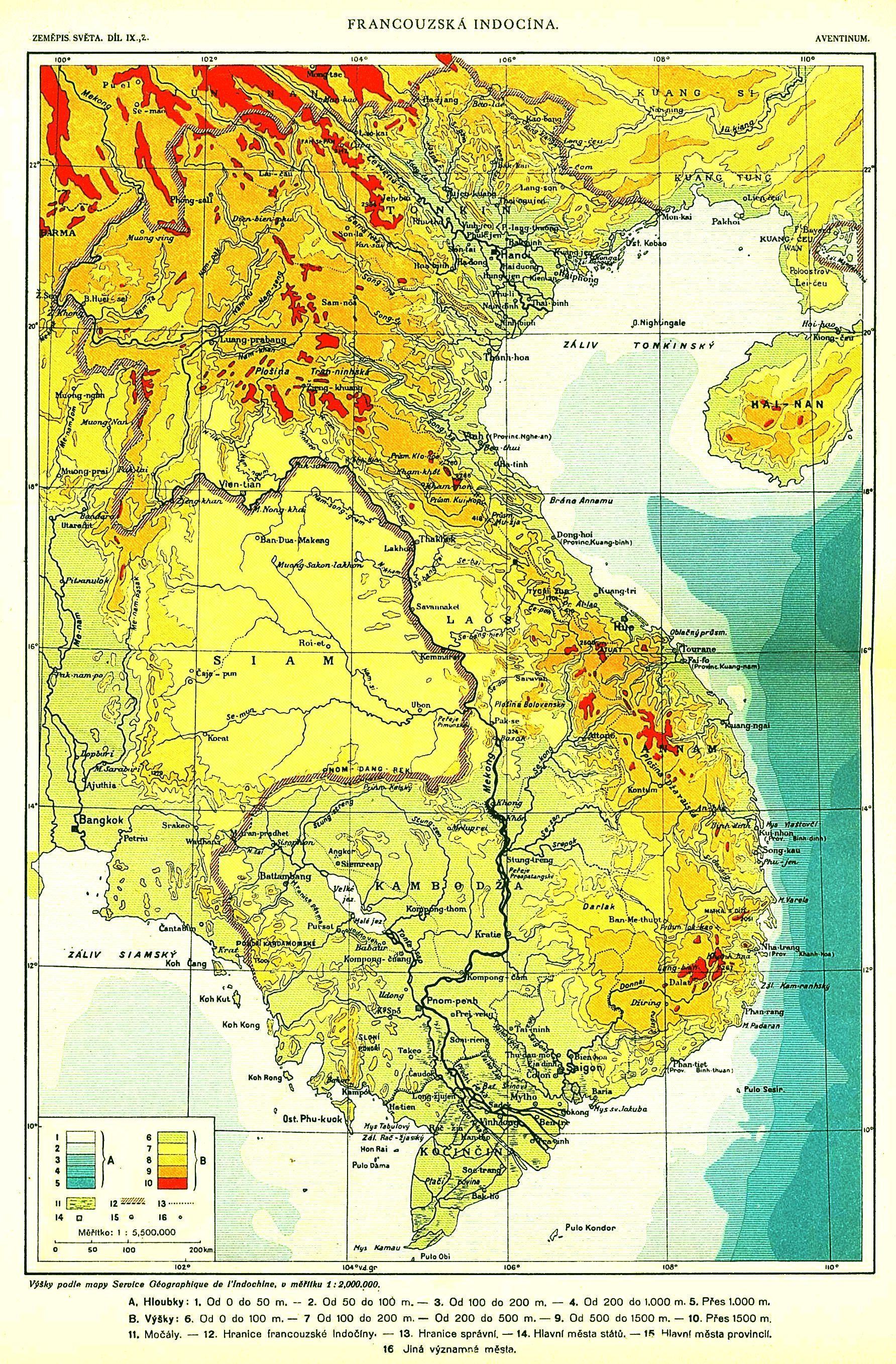 Kết quả hình ảnh cho Bản đồ thực dân Pháp thành lập Liên bang Đông Dương