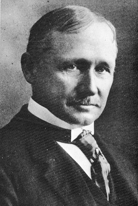 Frederick Winslow Taylor, father of scientific management, around 1900