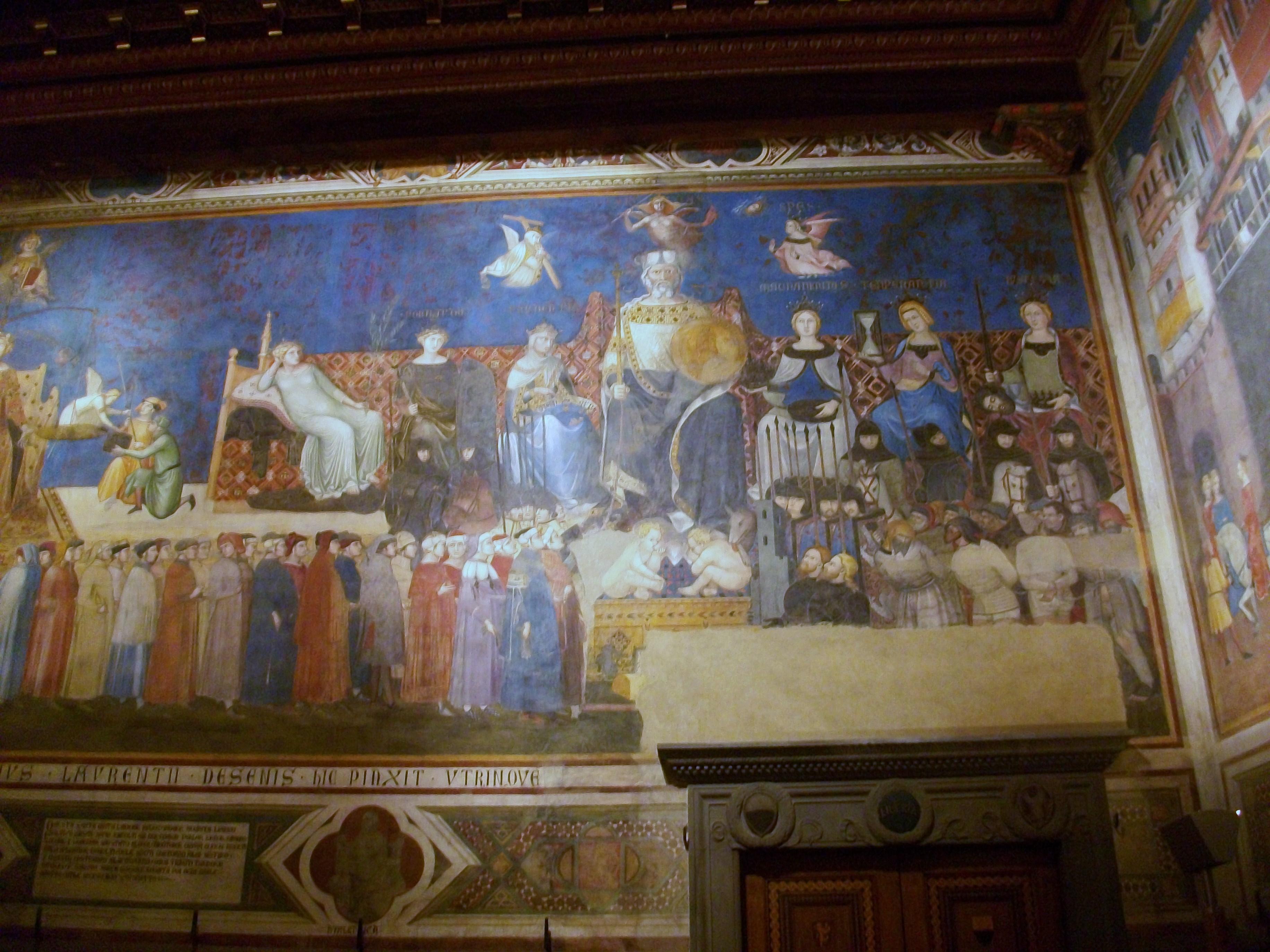 ambrogio lorenzetti peaceful city