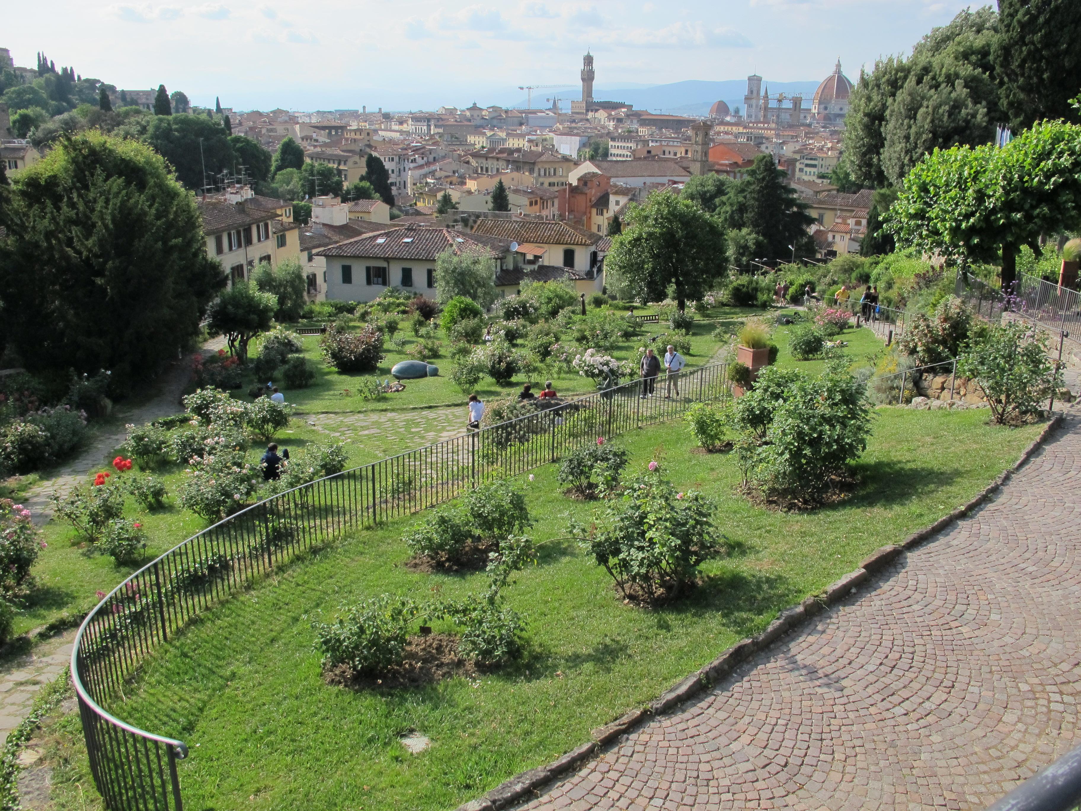 Fichier giardino delle rose firenze veduta jpg wikip dia - Giardino delle rose firenze ...