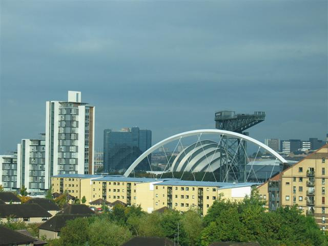 Glasgow skyline by day - geograph.org.uk - 572269