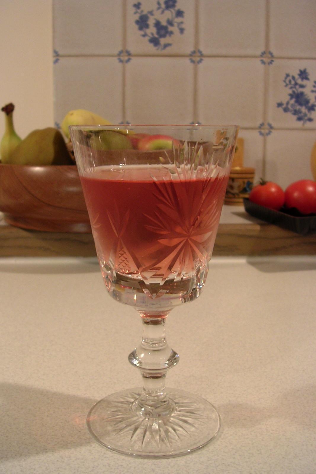 Depiction of Vino rosado