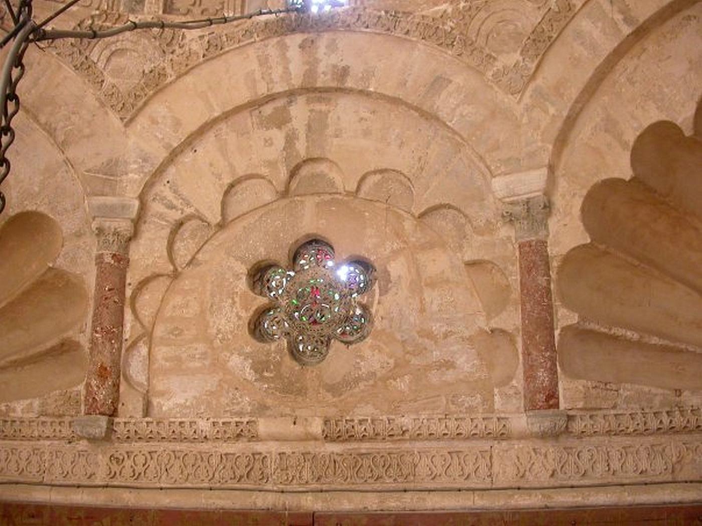 Fichier Grande Mosquee De Kairouan Oculus De La Coupole Du Mihrab