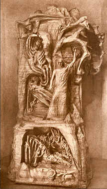 Le Représentant de l'humanité, luttant entre Lucifer et Ahriman pour les équilibrer