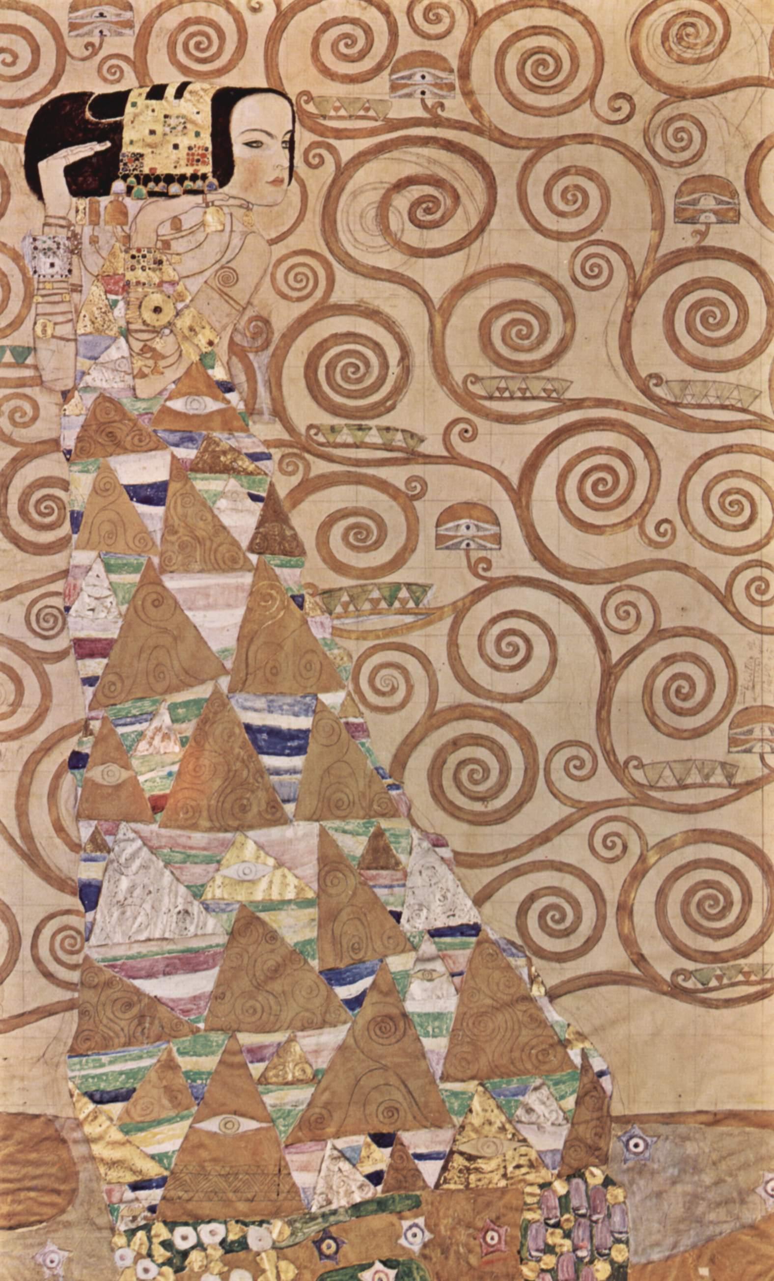 árbol de la vida de Gustav Klimt 1