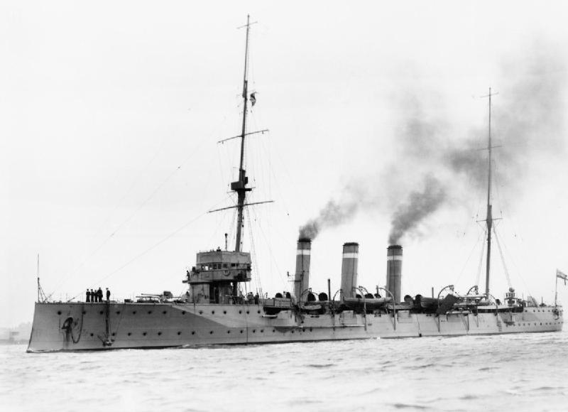 Бронепалубный крейсер «Топаз» типа «Джем»