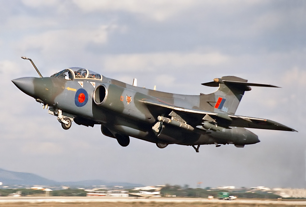 File:Hawker Siddeley Buccaneer S2B, UK - Air Force AN0334965.jpg - Wikimedia Commons