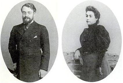 Анри Матисс и Амели Парейр в год свадьбы (1897)