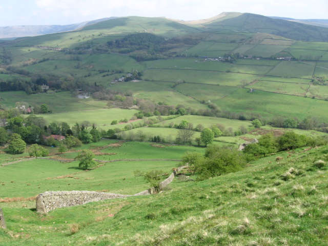 Hillside above The Naze near Chinley Churn - geograph.org.uk - 1278124