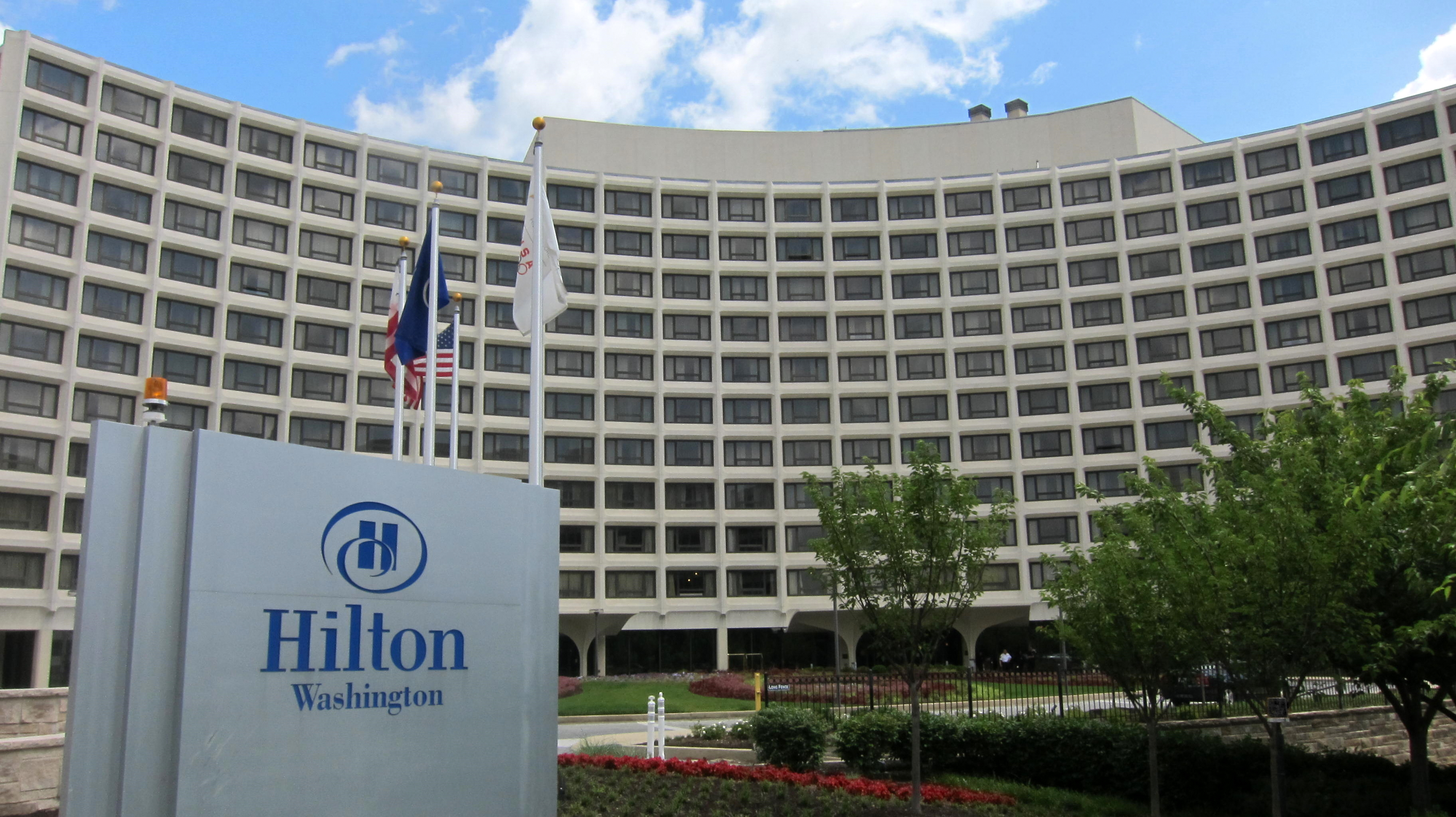 The Hilton Hotel Chicago