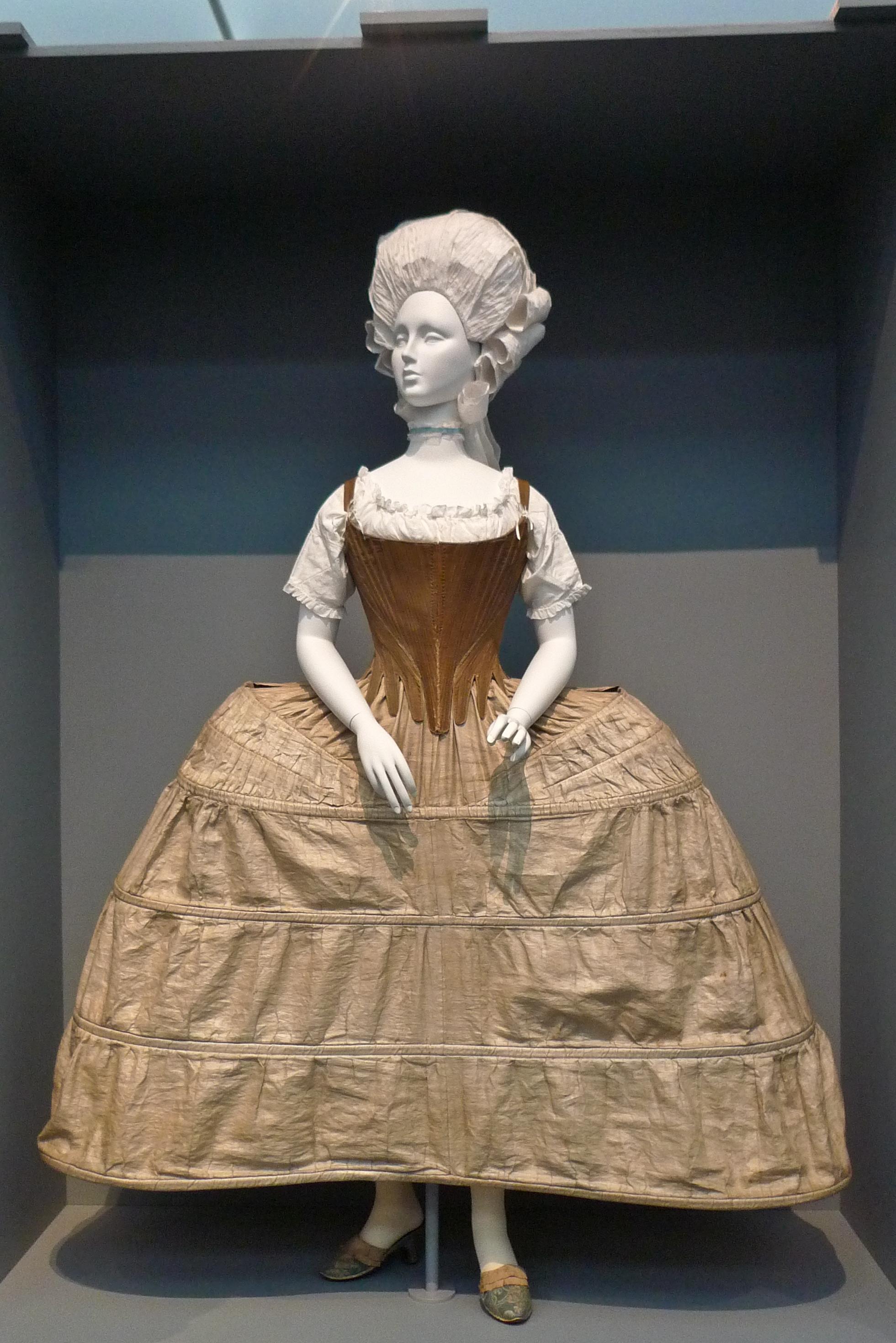File:Hoop petticoat and corset England 1750-1780 LACMA.jpg