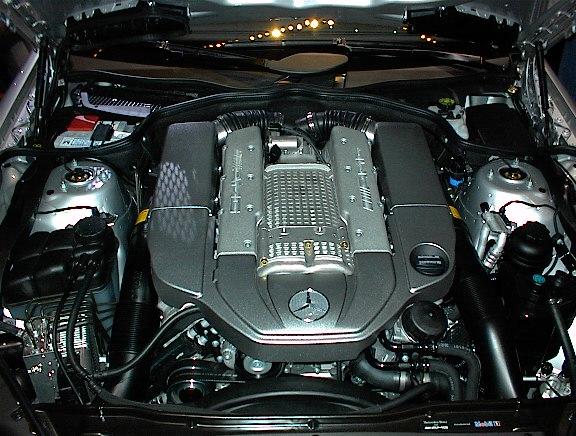 Mercedes M113 Engine