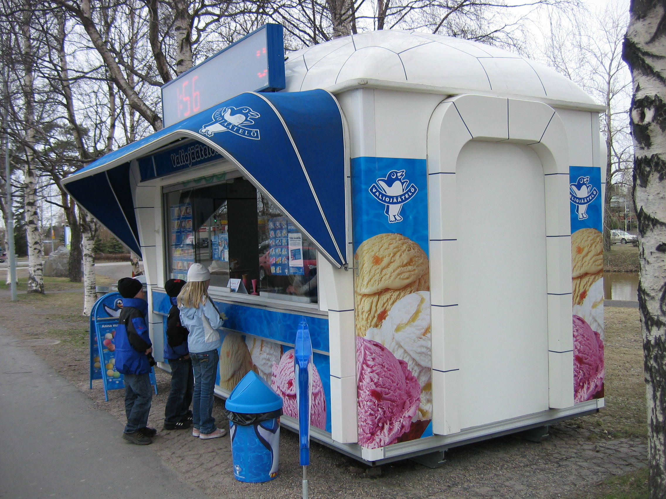 Jäätelökioski Oulu