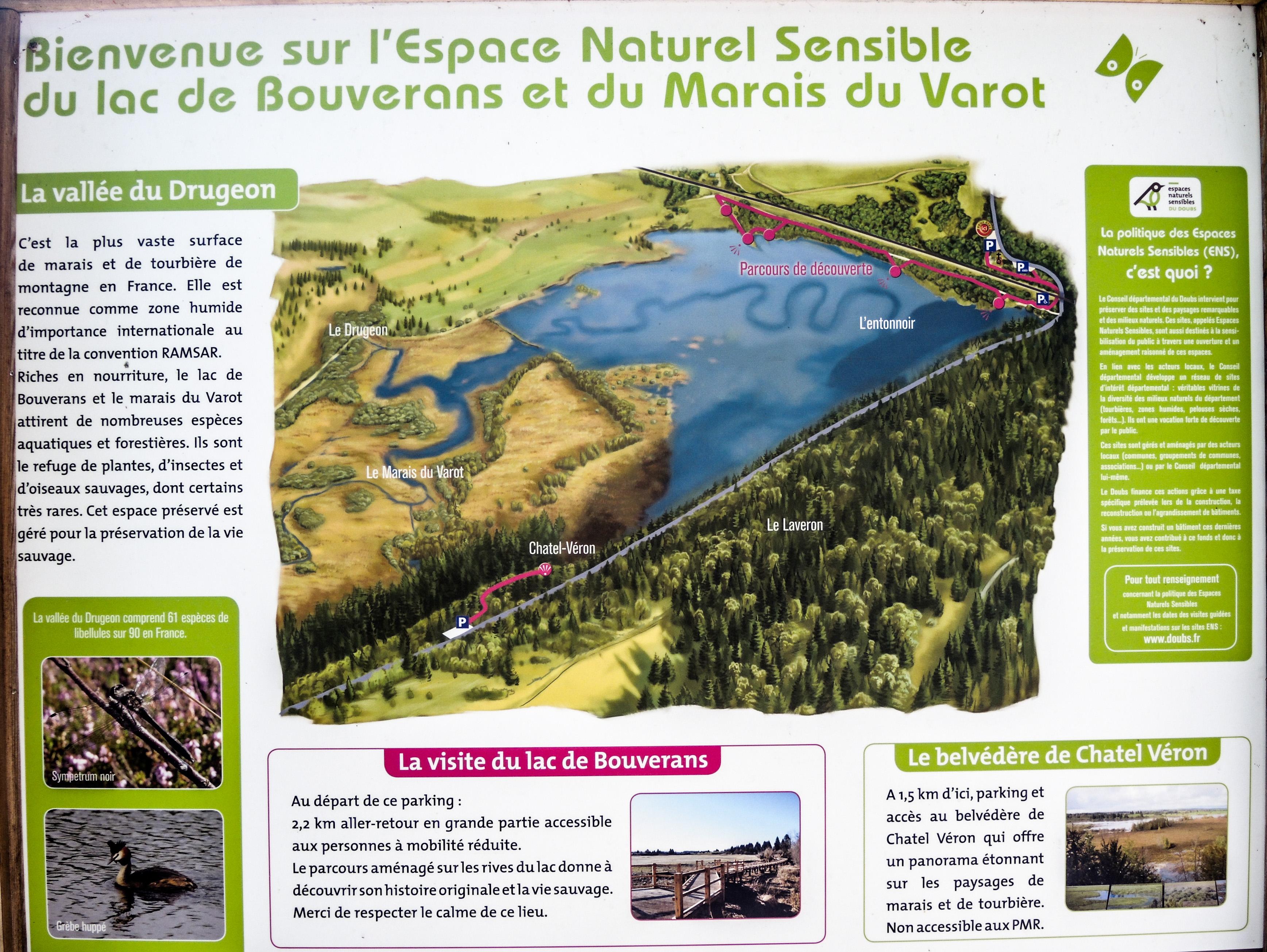 File Informations Sur Le Lac De Bouverans Et Le Marais Du