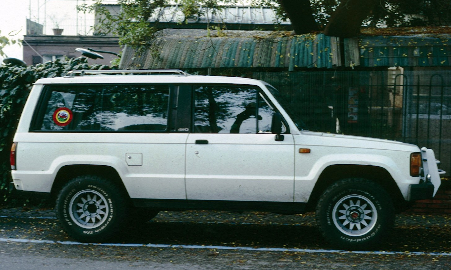 FileIsuzu Trooper 2 door 1984jpg  Wikimedia Commons