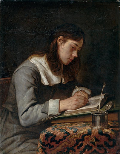Jacob van Oost (I) - Young Man Writing