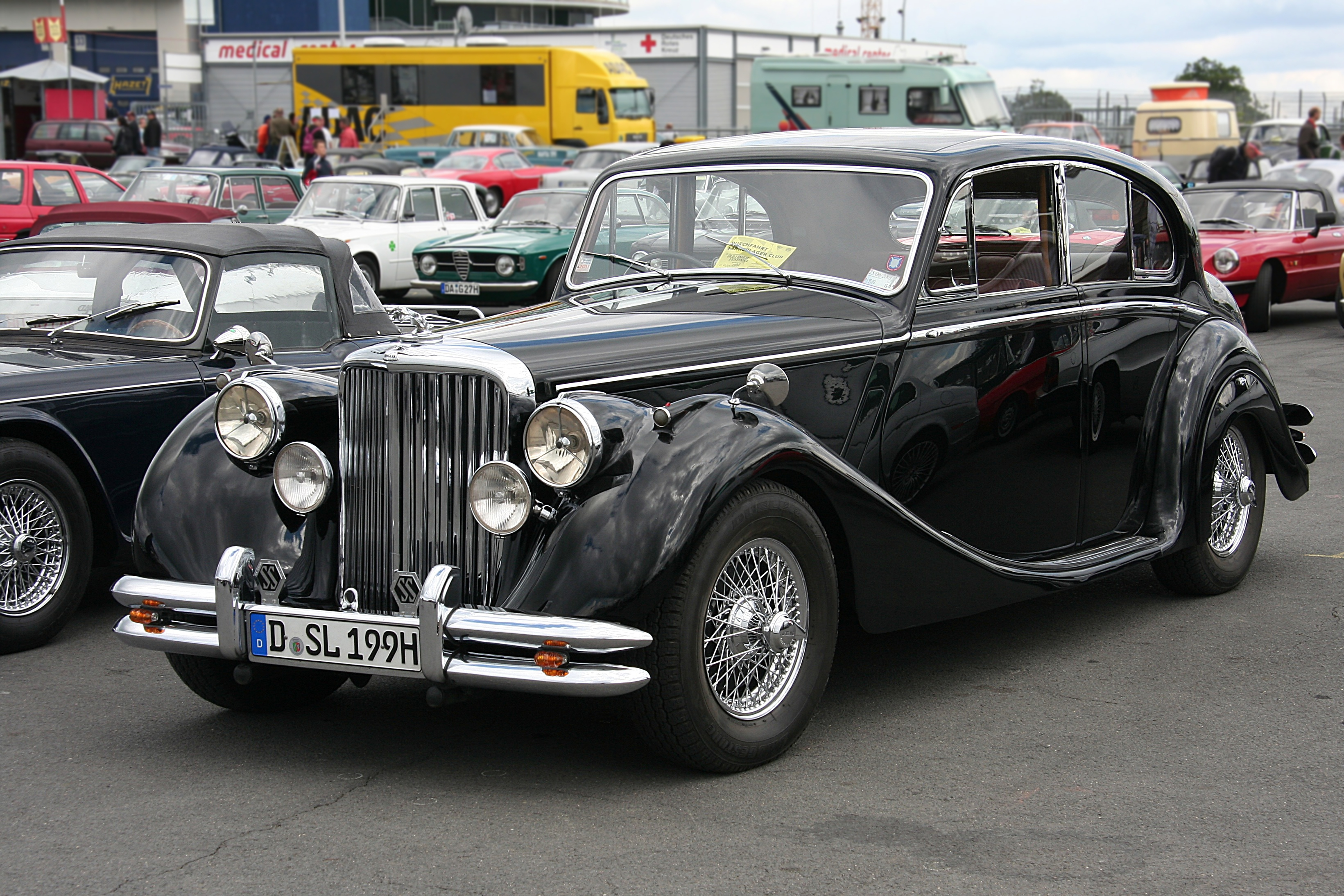 file jaguar mk v bauzeit 1948 51 front 2008 06 28 jpg wikimedia commons. Black Bedroom Furniture Sets. Home Design Ideas