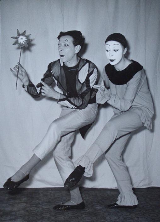 Mimes Jean and Brigitte Soubeyran