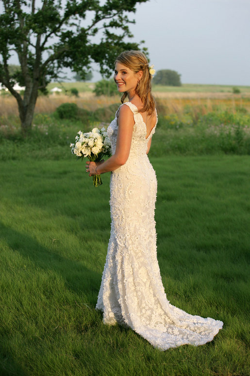 Jenna bush hager wikiwand for Simple southern wedding dresses