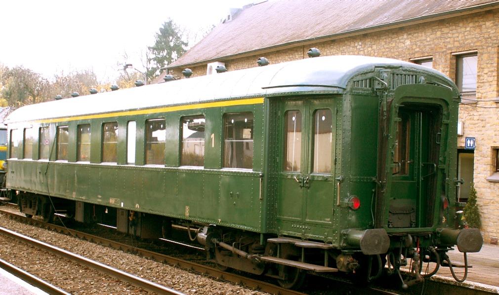 File k1 marbehan 150 ans wikimedia commons - Wagon de train a vendre occasion ...