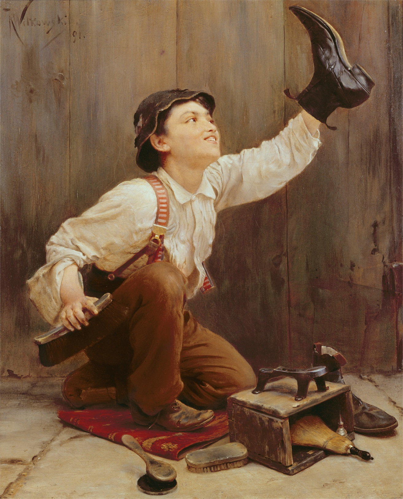 Size Shoe Boy Age