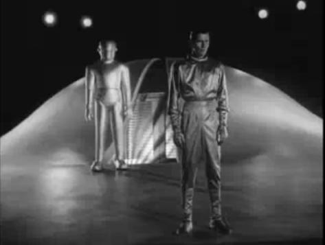 Klaatu and Gort