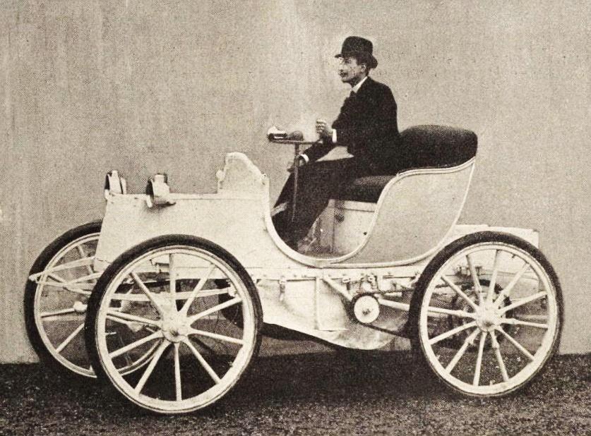 prima auto elettrica